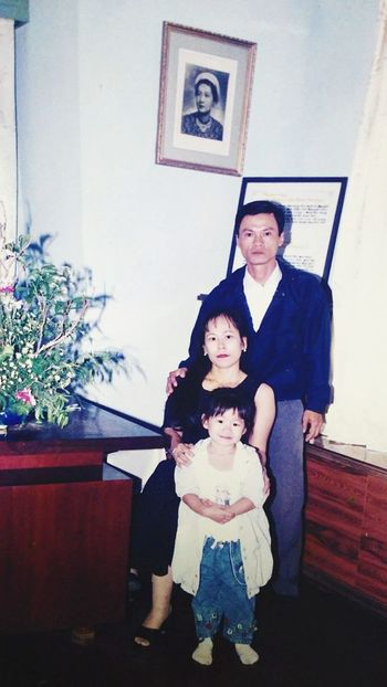 My small family ❤❤❤ Family❤ Mah Daddy Father Day Vietnamese Love Them ❤