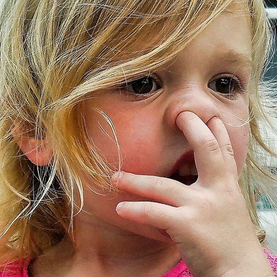 Focus Girl Blonde Florida Native Booger Summer