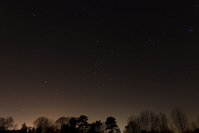 Light Pollution Darkness Stars Light Star - Space Space