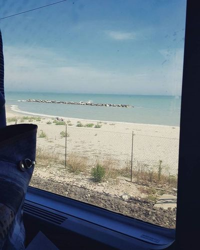 Going to Padova through Italy by train.. adriac sea Travelingbytrain Traveling Bytrain Travelthroughitaly