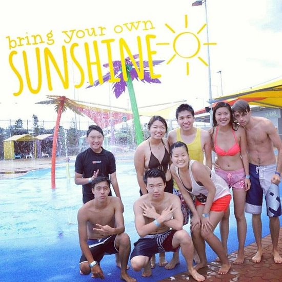 """/international happiness day '14 """"Because I'm happy, Clap along if you know what happiness is to you"""" Throwback to Wet 'n' Wild (^_-) 100happydays Learningshappydays Firsts happy bringoutthesun"""