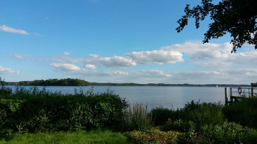 Plöner See Tranquil Scene Tranquility Lake Beauty In Nature Cloud - Sky Scenics Non-urban Scene Outdoors Green Color Lakeview My Year My View