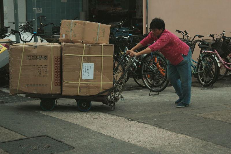 Cheungchau HongKong Discoverhongkong Traveling Travelphotography People Photography People Street Movingboxes Vacation