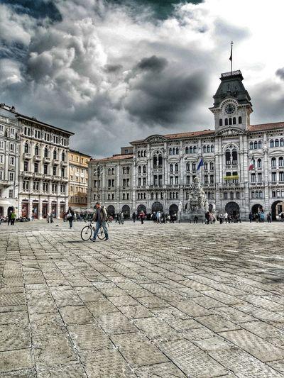 Piazza Unita' d' Italia Trieste Italy Triesteraccontatrieste TriesteSocial Trieste Triestemonamour Trieste, Italy Triestestreetlife Triestephotodays