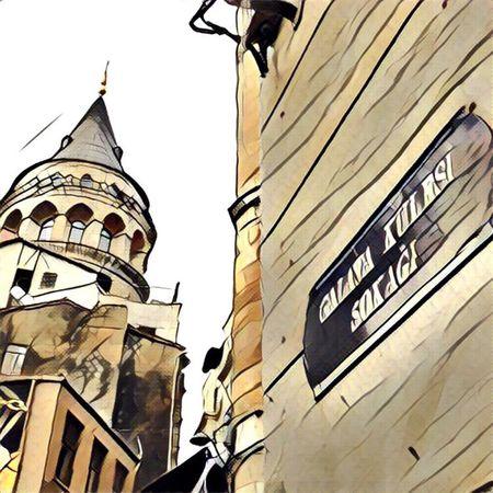 Galata Galatakulesi Istanbul Turkey Türkiye Prisma Travelphotography Colors Travel Pfotolove Galata Tower Galatatower