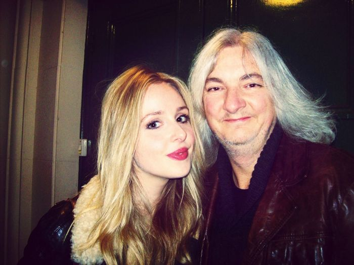 Real Talent Me and Diana Vickers