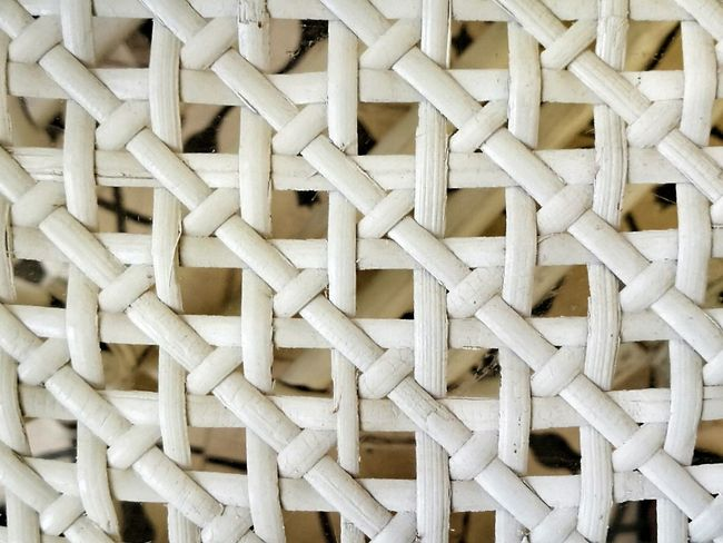Bamboo Pattern Backgrounds Full Frame Geometric Shape No People Crisscross Close-up Indoors  Day