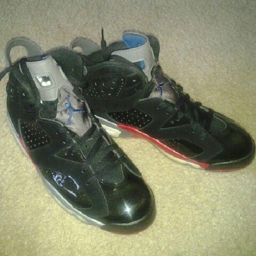 6's today. Only worn once. JSOE Jordans J 's