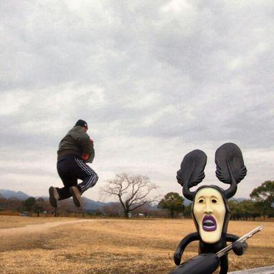 今日の浮遊 TODAY'S LEVITATION  no app 合成はしてません。 ●生息地 お墓や荒れた木の上 ●特徴 ・ 気が荒く乱暴 ・ きれいな物が大嫌い ・ カラスや黒猫と一緒にいることが多い ●食べ物  なんでも食べる雑食 Jumpstagram Instagood Me Instagramhub Happy Webstagram Sky Instadaily Funny Instahub Jump Tweetgram Levitation Grasslevelseries Japan Moonleap Photooftheday Levitasihore Picoftheday Photogramers Japanese  Kobitodukan Instamood Bestoftheday Igers Skylover