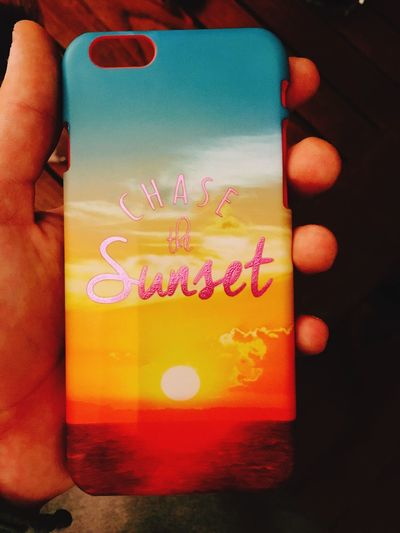 Chase The Sunset ! 😍😍 Fun🙈🙈 Iphone6s