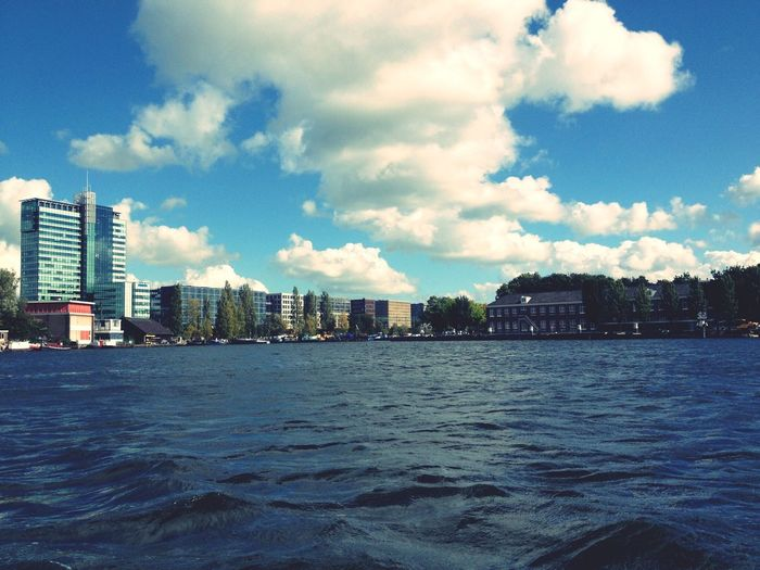 Built Structure Water Sky Cloud - Sky Waterfront Cityscape No People City Day Outdoors Nature Amsterdam Amsterdamcity Amsterdam.nl Amesterdao