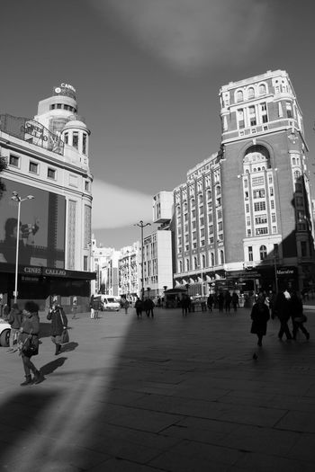 Building Exterior Architecture Built Structure City Large Group Of People Real People City Life Women Men Sky Outdoors Day People Plaza Callao Madrid Hanging Out Check This Out Taking Photos Enjoying Life Street Photography Streetphotography Blackandwhite EyeEm Best Shots Welcome To Black The Street Photographer The Street Photographer - 2017 EyeEm Awards Black And White Friday The Street Photographer - 2018 EyeEm Awards The Architect - 2018 EyeEm Awards