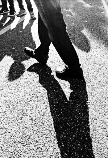 Black And White Photography Monochrome Peoplephotography StepByStep 👣👣 Light And Shadow Check This Out B&w Street Photography