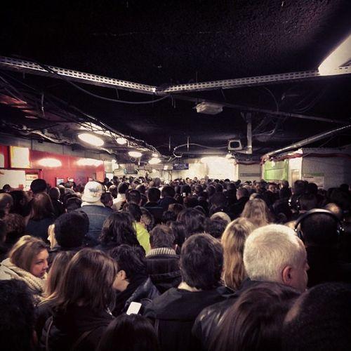 Ce matin, dans les transports parisiens... RerB RERA Ligne1 Chatelet
