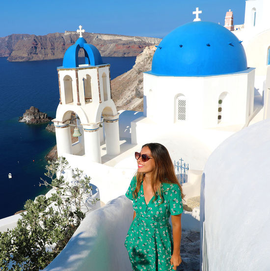 GREECE ♥♥ Santorini Greece Santorini Island Santorini Scene Santorini, Greece Architecture Beautiful Woman Built Structure Fashion Hairstyle Leisure Activity Lifestyles One Person Outdoors Real People Religion Santorini Santorini Church Santorini View Santorinigreece Sunglasses Sunglasses Girl Women Young Adult Young Women