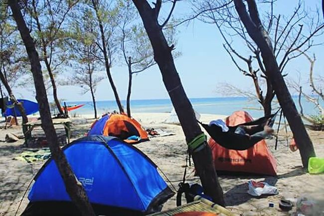 First Eyeem Photo INDONESIA Beach Beautiful Mycountry Backagain Camping