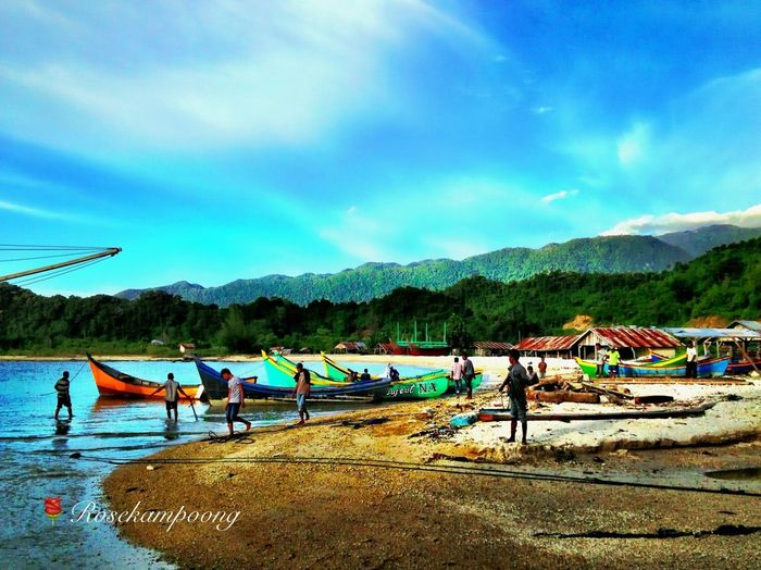 D Day At Lhok Seudu I Love The Blue Of Indonesia
