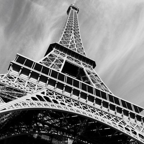 Paris Eiffel Tower Eiffelturm Frankreich France City Of Love