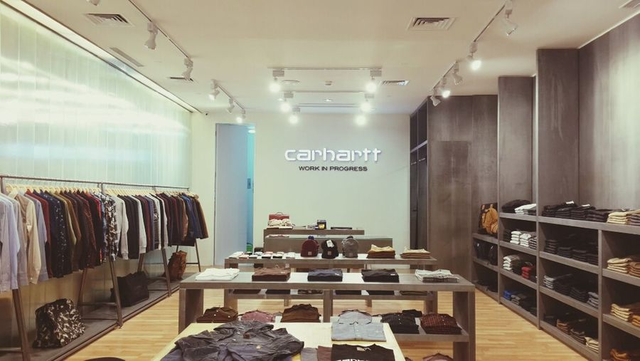 Carhartt Work In Progress - Plaza Indonesia store. Carhartt Carharttwip Store Streetwear