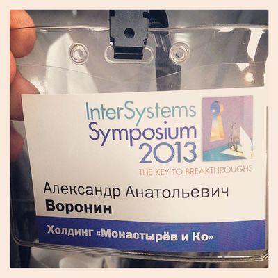 InterSystems Symposium 2013