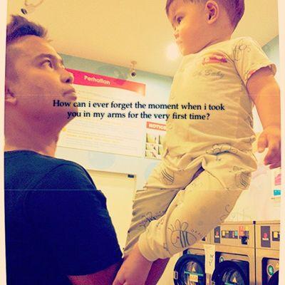 Instalove Love Anakku Myson moment son ourson fathernson instalife family