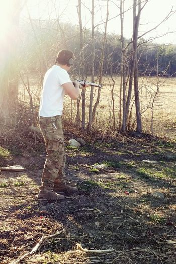 Hunting Shooting Target Practice Target Rifle Gun Camo Camouflage Multicam Headset Mosin Mosinnagant Alternative Fitness
