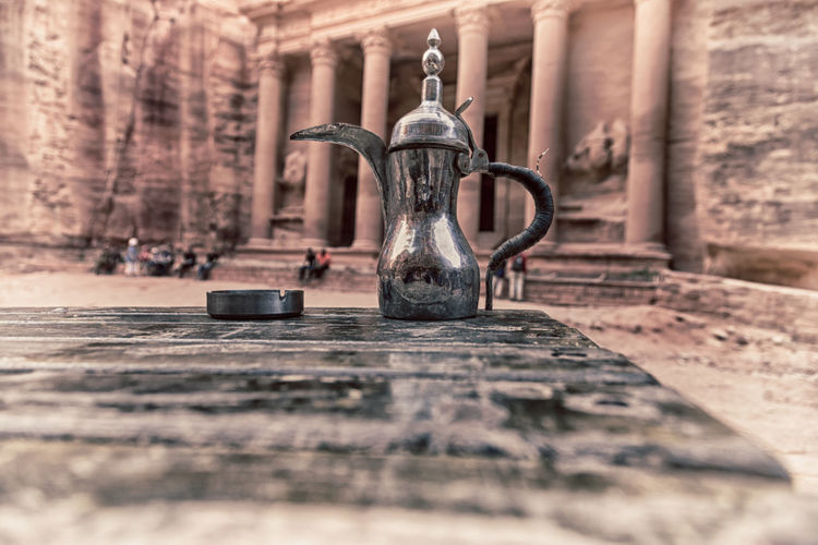 Coffee Arabic Ramadan  Pot Coffe Teapot Background Drink Tea Traditional Object Metal Food Jordan Vintage Petra Antique Culture Ancient Restaurant Retro Cafe ASIA Detail Metallic Container Beverage Copper  Temple Religion Unesco Heritage Tomb Historic Adventure Nabatean Sacred Gold Blur Middle White Isolated Utensil Brass Souvenir Bronze Table East Tourism Black