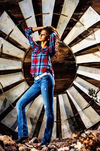 Full Length Lifestyles One Person Casual Clothing Young Adult Standing Real People Cool Kris Slater Sunlight Fashion Model Beautiful Woman Glamour People Smiling Happiness Outdoors Adult Young Women Day