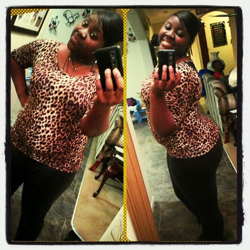 cheetah and leather pretty me!! #like