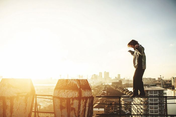 Training no matter where we are. OpenEdit Open Edit Hello World Urbex Parkour Sunset Check This Out City Urban Cityscapes