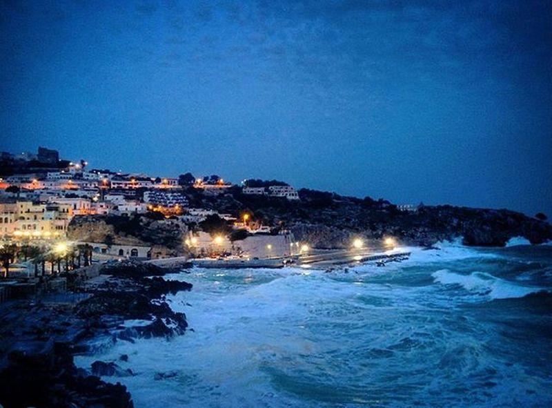 Salento Mare Sea Cielo Sky Castro Castromarina Italy Puglia Italia Onda Onde