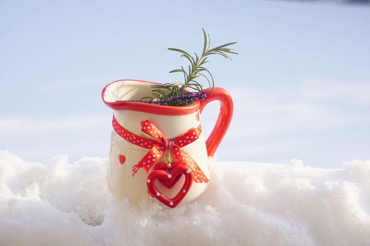 Cloud - Sky Nature Sky No People Red Day White Color Close-up Creativity Food And Drink Outdoors Plant Holiday Beauty In Nature Snow Food Cold Temperature Winter