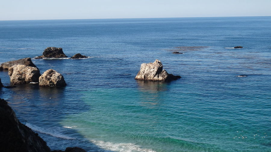 PISMO BEACH CA USA Beauty In Nature Blue Cliff Coastline Distant Exploring Horizon Over Water Ocean Outdoors Remote Rock Rock - Object Rock Formation Scenics Sea Seascape Shore Vacation Vacations Water