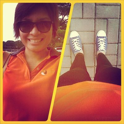 Last day! CarrotColor Rugged Weekend Converse practical exam