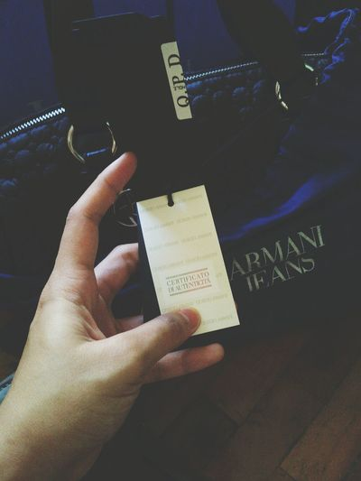 Wow! Swerte ni ate 😂 Armani Jeans  Armani❤