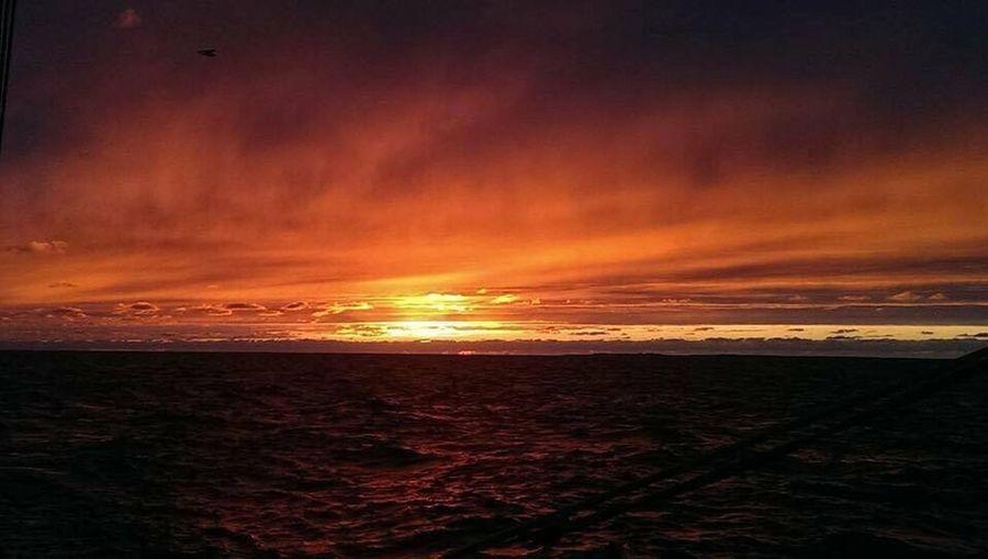 Sunset Sky Sea Scenics - Nature Beauty In Nature Water Beach