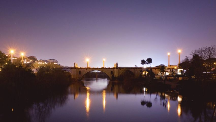 Monday evening // Priimephoto Priime Fuji X100s FUJIFILM X100S X100S Long Exposure Silk Effect Riverside The Tiber Bridge