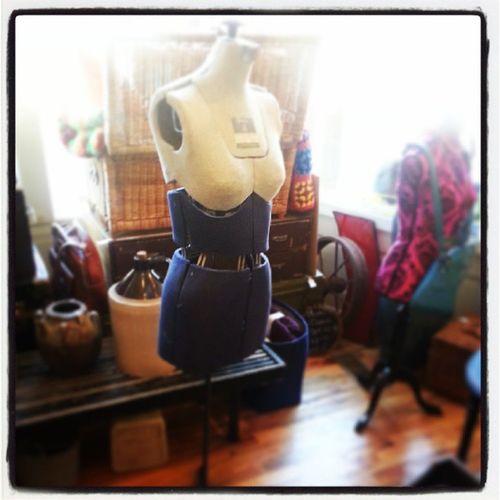 Vintage dress form (fairloom). Adjustable Hingestore Cincinnati Vintage Dressform designer beforeandafter homedecor decor precious