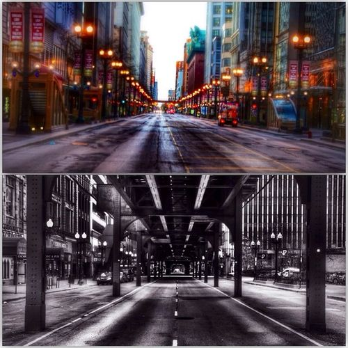 Throwback. Refound these on my phone Chicago Streets Blurredout Tunnel canon