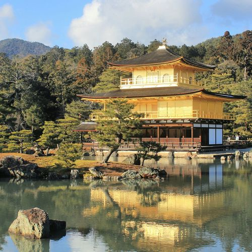Temple Japan Kyoto Religion Culture Cultural Heritage Budha Holiday Culture And Tradition Culture Of Japan Afternoon Japanese  Heritage Kinkaku-ji Samurai