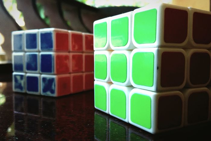 Focused Rubixcube Colors Game Play