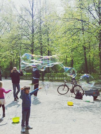 Making Bubbles Bubbles... Bubbles...Bubbles.... Fun In The Sun Light
