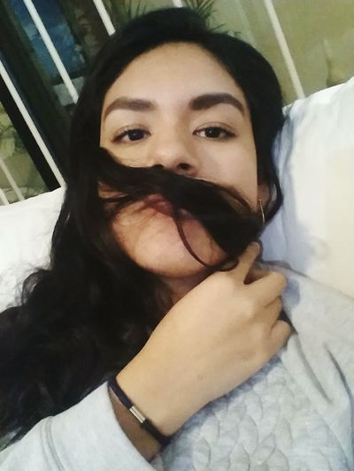 With this face I see you. TryingToBeCute Face Serious Seriousface Moustache :) Follow4follow