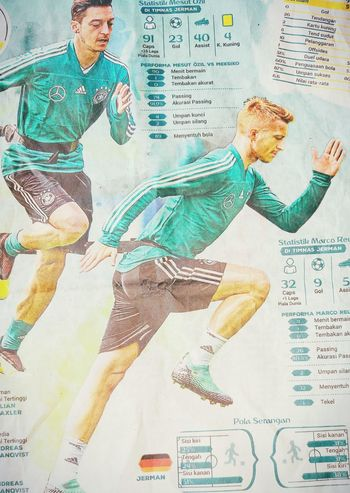 Germany club World Cup 2018 Painted Image Business Businessman Men Newspaper Multi-layered Effect Journalism The Media