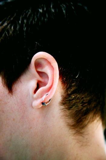 Lgbt Gay Lesbian Queer Queer Women Man Piercing Piercings Woman Close-up Day Ear Earring  Human Body Part Indoors  Jewelry Men Neck One Person People Pierced Real People Shorthair Skin Women