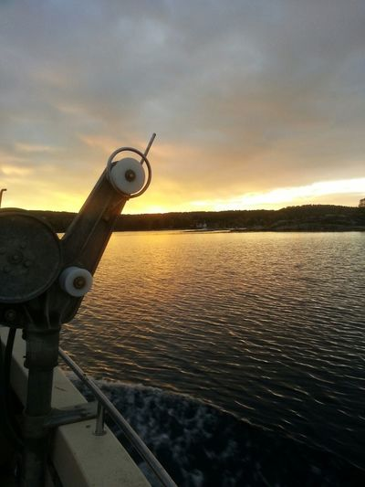 Fishing, view, autumn, family. What's not to love...? Fresh Air Fishing Lobster Sunset