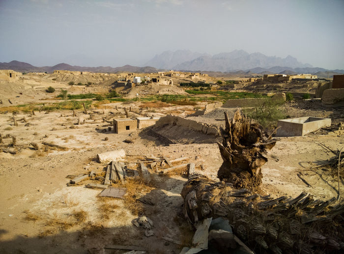 Old villages of Al Nakhal Yanbu Old Village Old Buildings National Heritage Site EyeEm Selects Sand Dune Desert Arid Climate Sand Sky Landscape