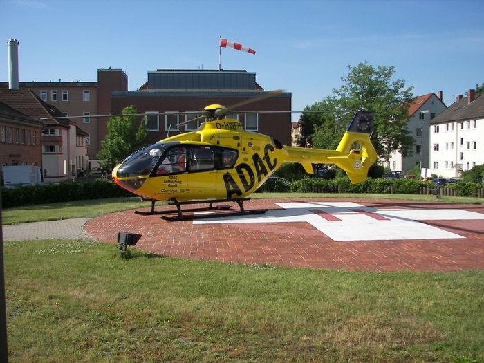 Braunschweig Christopher Hilfe In Der Not Hubschrauber  Krankenhaus Lebensretung Notfallhilfe Sky