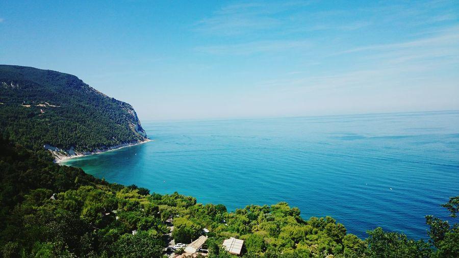 Sirolo Marche Summer Estate2015 Mare Spiaggi Dei Sassi Neri
