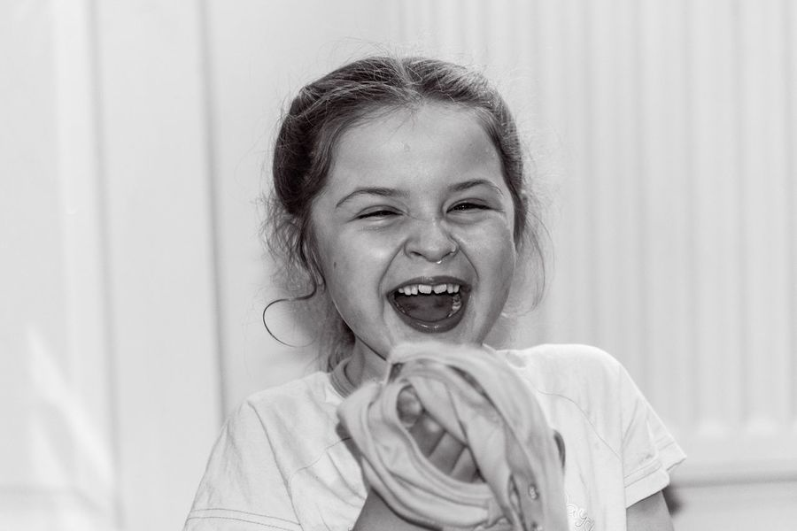 Sophia ❤️️ Happiness One Person Smiling Childhood Curtain Laughing Real People Cheerful Elementary Age Girls Indoors  Mouth Open Portrait Fun Cute Lifestyles Headshot Looking At Camera Leisure Activity Human Face Nikon D750 Nikon Nikonphotographer